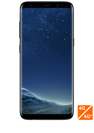 Galaxy S8 noir vue 1