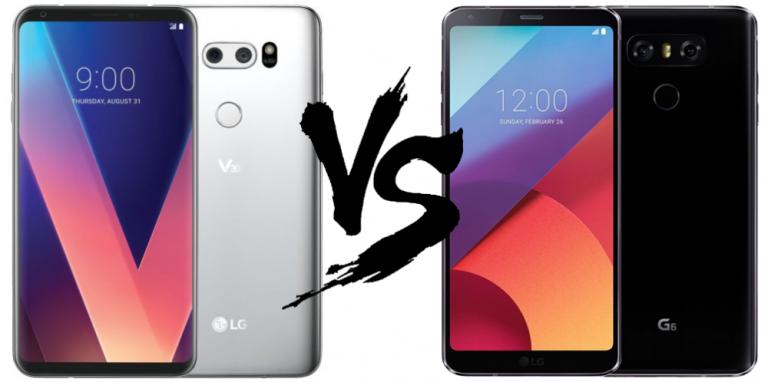 LG V30 vs LG G6 : une évolution attendue et bienvenue
